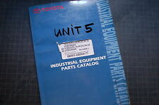 Toyota 7fbcu 15 18 20 25 30 32 Forklift Truck Parts Manual Book Catalog Spare H