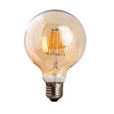 G95 E27 8W Dimmable Globe Vintage Industrial LED Filament Retro Light Lamp Bulb