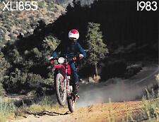 '83 Honda XL185 XL185S Sales Brochure
