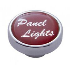 knob panel light red glossy sticker for Peterbilt Kenworth Freightliner dash