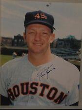 AUTOGRAPHED COLOR 8 X 10  PHOTO MLB RUSS KEMMERER>HOUSTON COLTS .45's