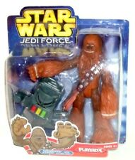 "Star Wars Playskool Jedi Force Chewbacca with Wookiee Action Tool 7"" Figure!"