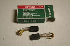 New Hitachi Carbon Brush Set for Hitachi Tool Models/Part # 999-043