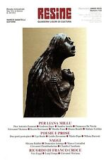 RESINE ANNO XXVII, n° 103, 1° trimestre 2005, Dr. Silvio Riolfo Marengo