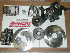 mcgaughys big brake kit chevy gmc truck 1963 - 69 70 67 6 lug drilled 63311