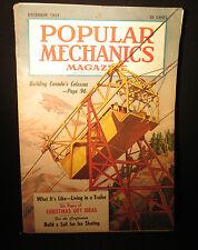 Popular Mechanics December 1953 Building Canada's Colossus