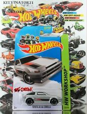 Hot Wheels 2014 #222 Toyota AE-86 Corolla METAFLAKE SILVER,1stCOLOR,BLACK MC5,US