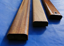 mahogany sapele quality moulded  bench slats 1.22m x 50mm x 20mm lath hardwood