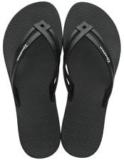 Ipanema Women`s Flip Flops Hashtag Sandal Black Brazilian Sandals NWT