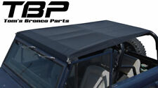 1966-1977 Early Bronco Family Roll Bar Top Kit Black