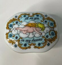 1983 Songs Of Love Music Box Vintage Franklin Mint I'll See You In My Dreams