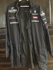 Men's Formula 1 racing jacket collectors race raincoat windbreaker black 3 M / L