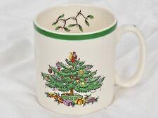 "SPODE Christmas Tree Coffee Mug - MADE in ENGLAND - S3324 A2 - 3 1/4"" Tall"