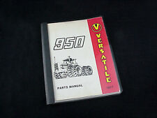 VERSATILE 950 Series 2 4-Wheel Drive Tractor Parts Manual form PU3500 thru 1977