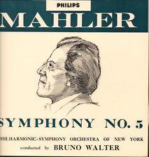 Mozart(Vinyl LP)Symphony No.5/ Bruno Walter-Philips-ABL 3189-UK-Ex-/VG
