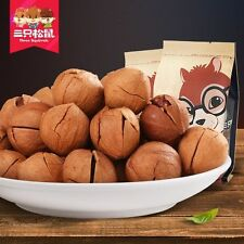 Chinese Food Snacks Three Squirrels Hand Peel Pecans Nuts 三只松鼠_手剥山核桃 临安小核桃235g/袋