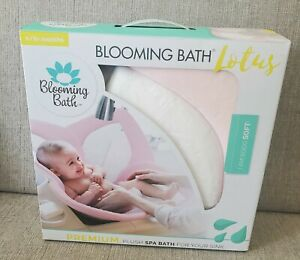 Blooming Bath Lotus 4 Petals Baby Bath Mat for Luxurious Sink Baths Experience
