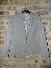 Ladies vintage grey Herringbone Giorgio ARMANI le collezioni jacket 10