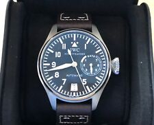 IWC BIG PILOT'S STAINLESS STEEL WATCH 47MM TRANSITION piece