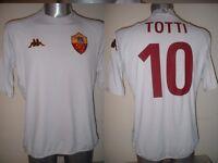 AS Roma Totti Shirt Jersey Football Soccer Kappa Adult 3XL Italy Italia Top Rare