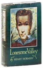 Hornsby LONESOME VALLEY 1st ed/DJ 1949 Novel set in rural Kentucky VG condition
