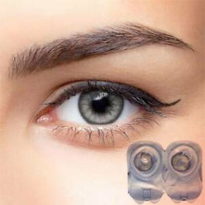 1 Pair Charming Big Eye Makeup Cosmetic Colour Beauty lens hydrophilic grey