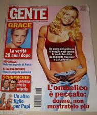 GENTE=2002/36=MICHELLE HUNZIKER=SIGNOR BONAVENTURA SERGIO TOFANO=