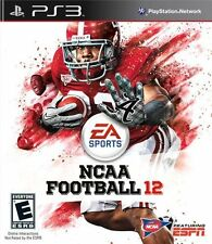PlayStation 3 : NCAA Football 12 VideoGames