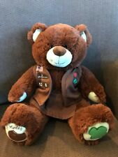 Build a Bear Girl Scouts Thin Mints Bear 2 Pc Brownie Uniform Stuffed BABW Sound