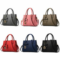 Women Fashion Soft Leather Handbag Satchel Tote Hobo Shoulder Crossbody Bag