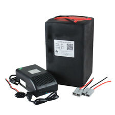 60V30AH LiFePO4 Rechargeable Battery Pack 1800W Electric Bike Scooter 5A Charger