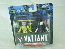 Valiant Minimates; X-0 Manowar, Bloodshot MIP