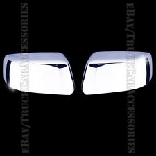 For CHEVY Tahoe LS/LT/LTZ 2015 2016 CHROME Top Half Mirror Mirrors Covers USA