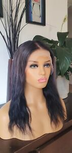 Authentic Real Human Hair Lace Wig 150% Density Big Sale