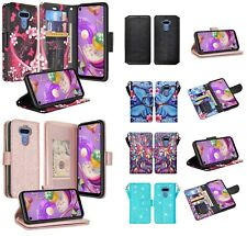 Lg K51 Design Wallet Credit Card Id Cash Slot Stand Flip Cell Phone Case Cover
