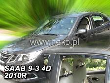 HEKO Windabweiser SAAB 9-3 4türig  2005-2012 4-teilig - 28105