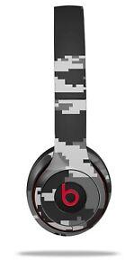 Skin Beats Solo 2 3 Digital Camo Gray Wireless Headphones NOT INCLUDED