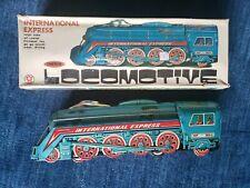 Rare Vintage International Express Large Scale Friction Locomotive MF-804 w/ Box