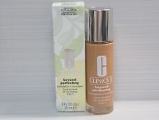 CLINIQUE BEYOND PERFECTING FOUNDATION+CONCEALER BEFORE 8.25 OAT NOW WN 48 1 OZ