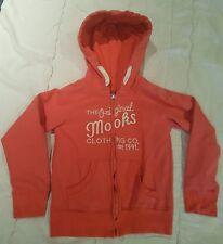 Mooks Target Girls Hoodie Jacket Tangerine Orange colour - size 7