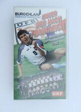 VHS Video Kassette Unser Weg nach Frankreich Die Qualifikation Fußball-WM 1998
