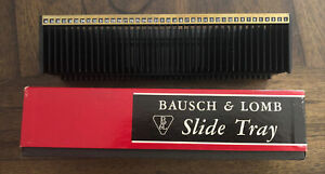 BAUSCH & LOMB 40 SLIDE MAGAZINE TRAY - FOR 2 x 2 35mm SLIDE PROJECTOR # 63-25-42