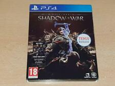 MIDDLE EARTH SHADOW OF WAR Steelbook Edition PS4 Playstation 4 (Tesco exclusive)