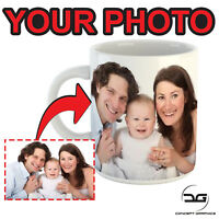 Custom Personalised Photo Coffee Mug Cup Printed With Your Image Present/Gift