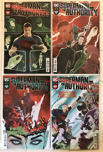 Superman And The Authority #1 2 3 4 Complete Set! NM 1st Prints! DC 2021
