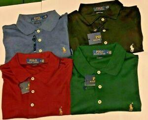 Polo Ralph Lauren Pima Soft Touch Cotton Polo Shirt w/ Multi Pony - Classic Fit