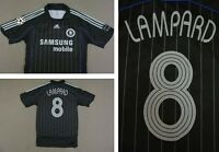 2006-08 adidas Chelsea FC Away Champions League Shirt LAMPARD 8 SIZE L (adults)