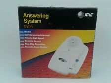 AT&T Answering System 1305 Micro Cassette Answering Machine - Used