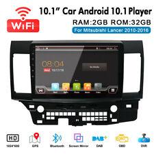 """10.1"""" Android 10.1 Radio Gps Navi Stereo For Mitsubishi Lancer 2010-2016 Ma2391"""
