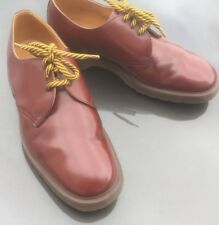 Dr Martens 1461 oxblood red leather shoes UK 7 EU 41 Made in England